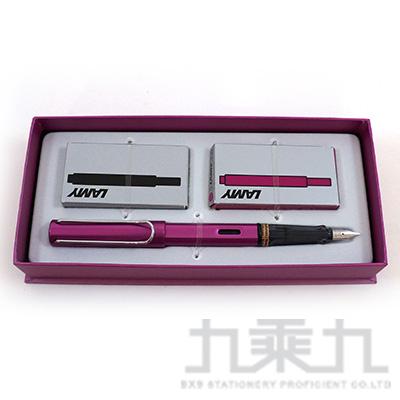 LAMY 卡水禮盒(99紫焰紅+T10黑+T10紫焰紅) LM0616