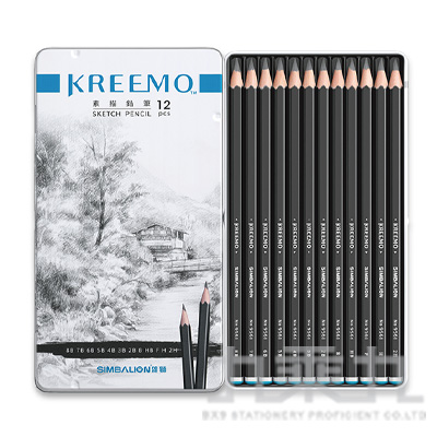 Kremo 素描鉛筆(12色組) KMPC-9561