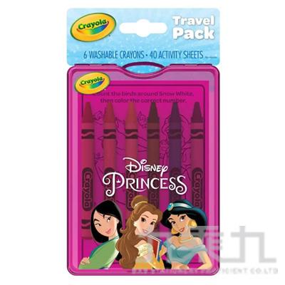 Crayola 隨行蠟筆著色套裝-迪士尼公主