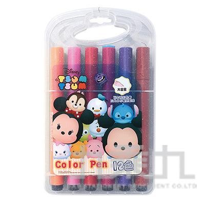迪士尼(Tsum Tsum)12色三角水洗彩色筆 TTCP150-1
