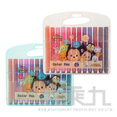 迪士尼(Tsum Tsum)24色三角水洗彩色筆 TTCP280-2