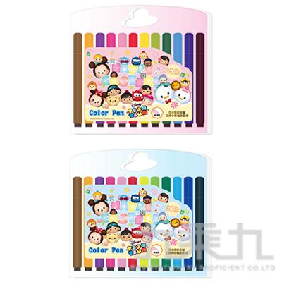 迪士尼 Tsum Tsum 24色三角水洗彩色筆(3) TTCP280-3