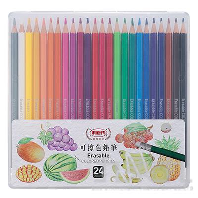 利百代 可擦色鉛筆24色 CC-865