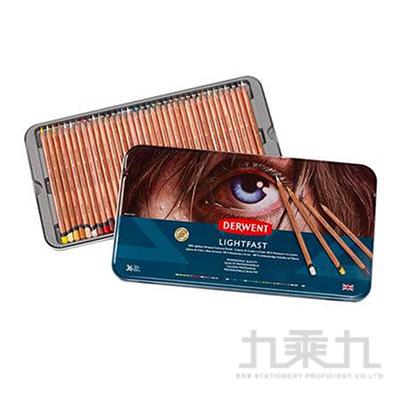 德爾文 LIGHTFAST油性色鉛36色鐵盒裝A DW2302721