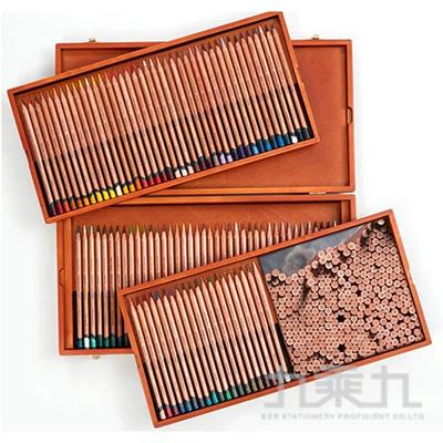 德爾文 LIGHTFAST油性色鉛100色木盒裝 DW2305693