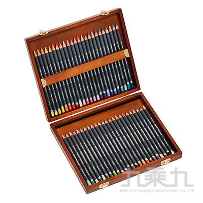 德爾文PROCOLOUR油性色鉛48色木盒裝 DW2302523