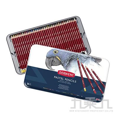 德爾文粉彩色鉛36色鐵盒裝 DW0700307
