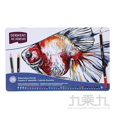 ACADEMY 水性色鉛36色鐵盒裝 ACA-2300226A
