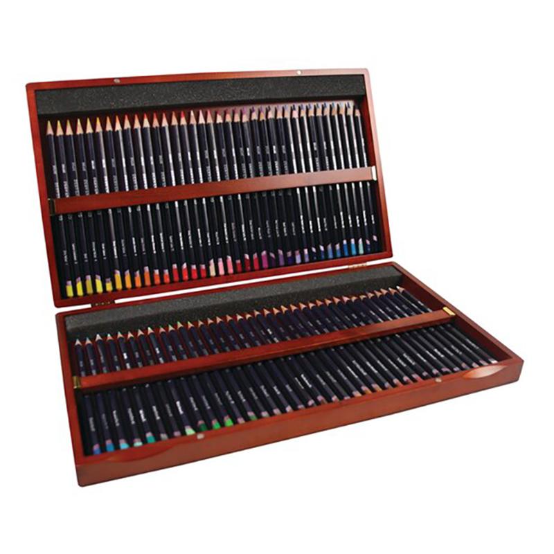 德爾文STUDIO油性色鉛-木盒裝72色 DW32199