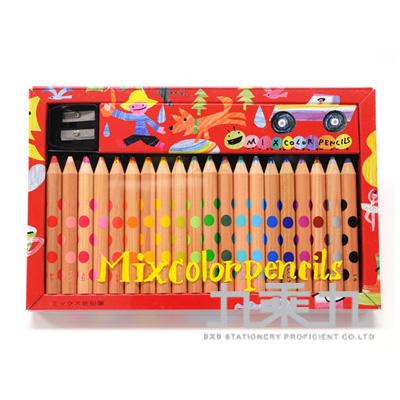 KOKUYO MIX雙色色鉛筆 20支組 KE-AC2