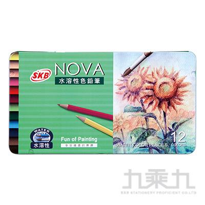 NOVA水溶性色鉛筆12色  NP-170