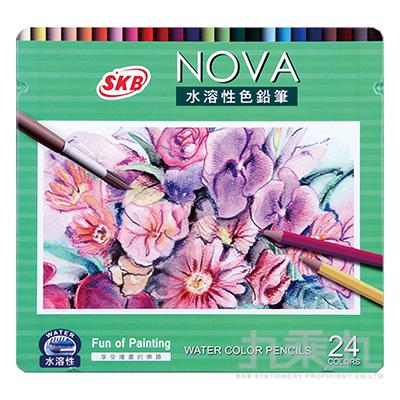 NOVA水溶性色鉛筆24色  NP-340