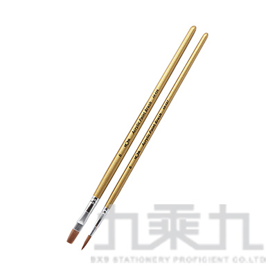 MONA 壓克力顏料用水彩筆(2入)