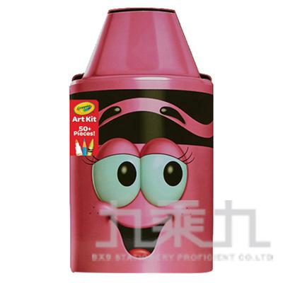 98#Crayola蠟筆娃娃禮盒組-開心粉