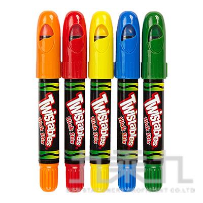 Crayola超滑順旋轉蠟筆5色