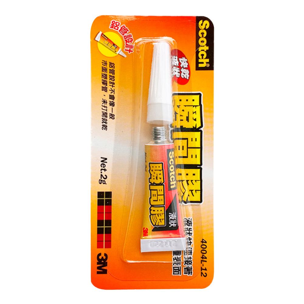 3M 液狀多用途瞬間膠 4004L-12