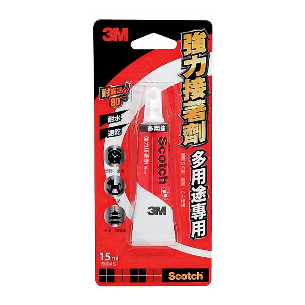 3M 多用途強力接著劑(15ml) 6004S