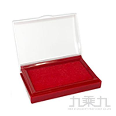 徠福 高級打印台-紅色 NO.2756