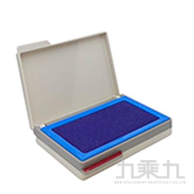 徠福 高級雙色打印台-紅藍 NO.2759