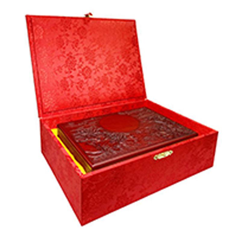 徠福 高級手雕藝術印泥盒 NO.2293