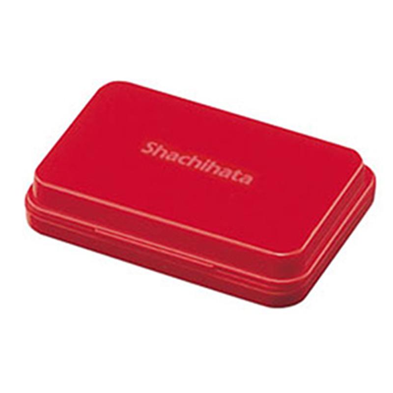 Shachihata油性印台 小/紅S1R