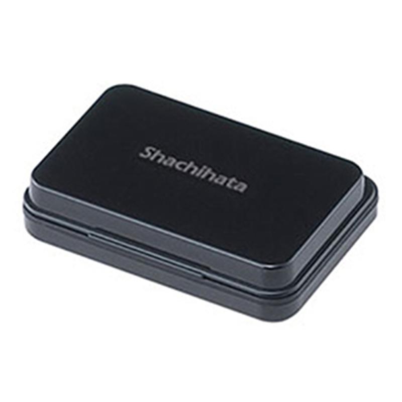 Shachihata油性印台-小/黑 S1K