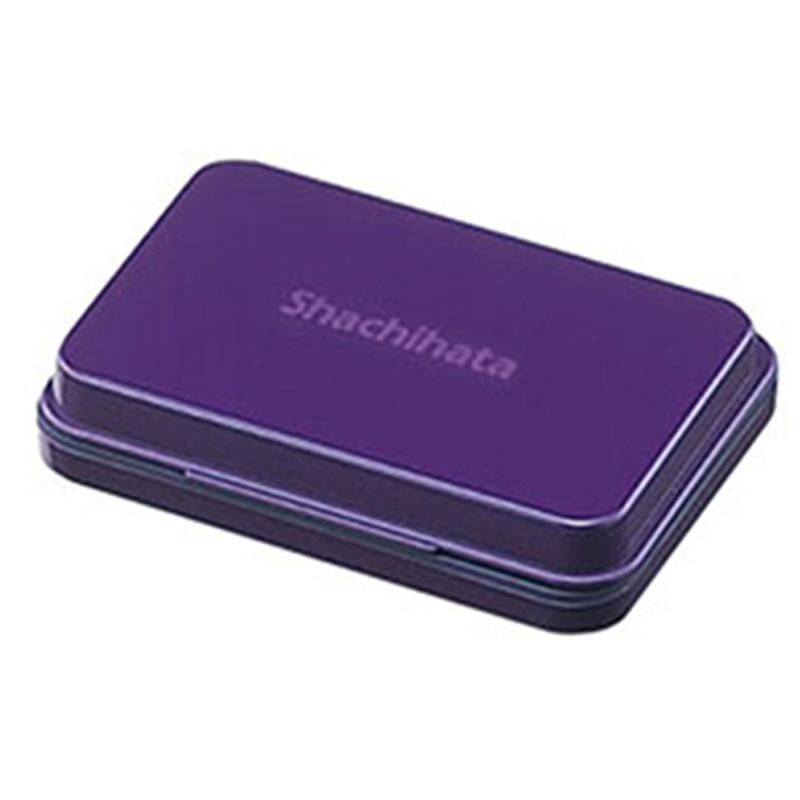 Shachihata油性印台-中/紫 S1V