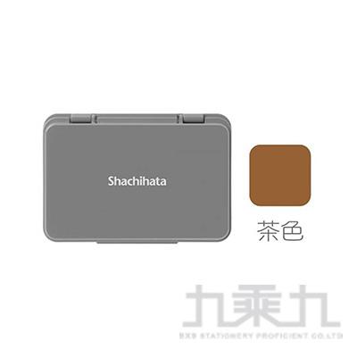 Shachihata油性印台-中/棕 S1BR