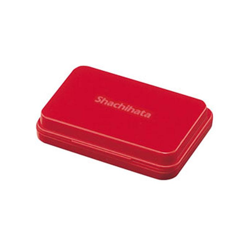 Shachihata油性印台-大/紅 S1R