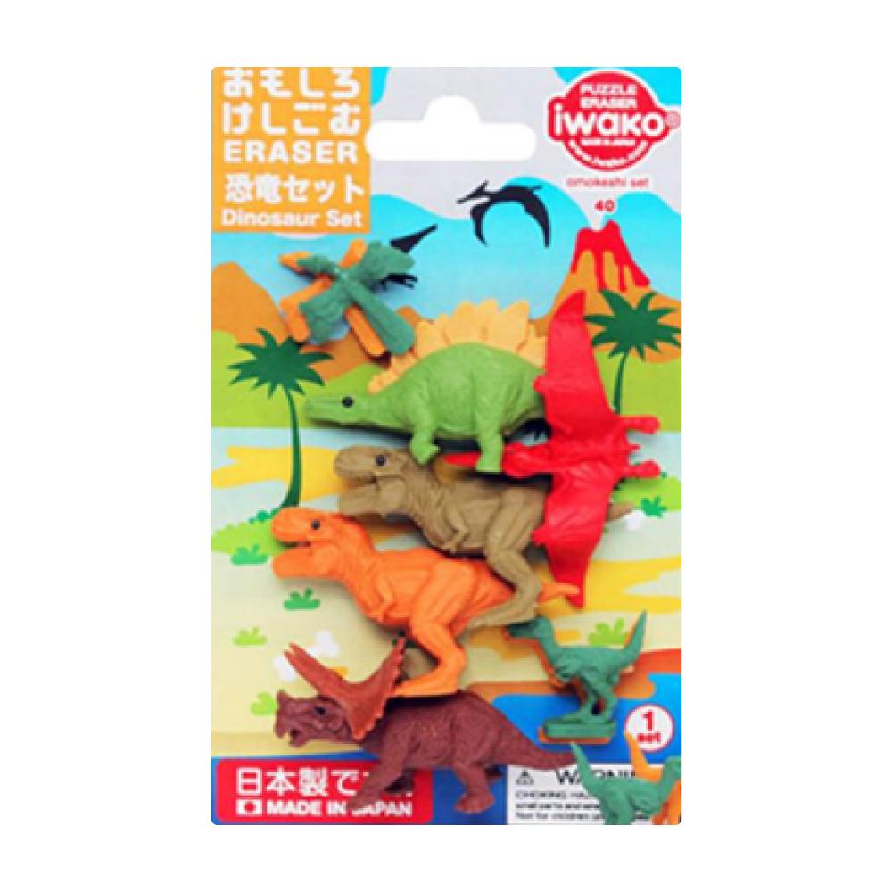 造型橡皮擦/恐龍 IWAKO:ER-BRI044