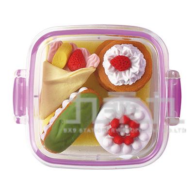 方盒橡皮擦組/甜點 IWKO:ER-981066