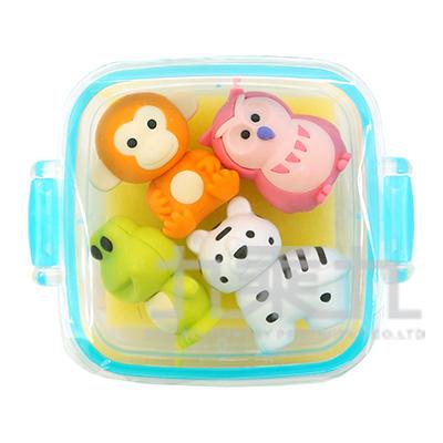 方盒橡皮擦組/動物 IWKO:ER-981073