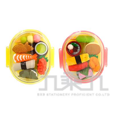 7入橡皮擦盒裝組/和食 IWAKO:ER-PUC004