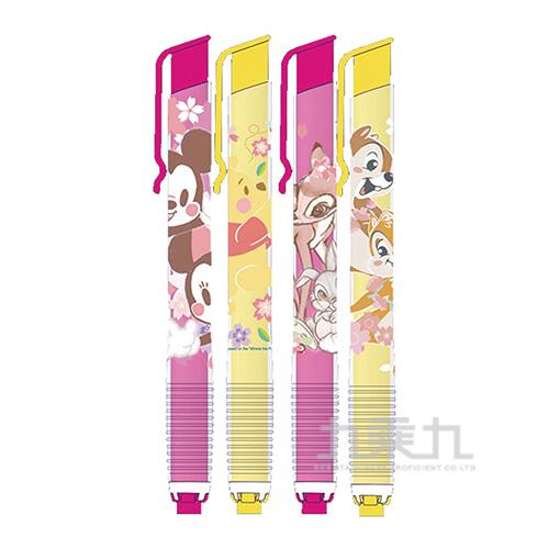 迪士尼(櫻花系)筆型自動橡擦組(款式隨機出貨)