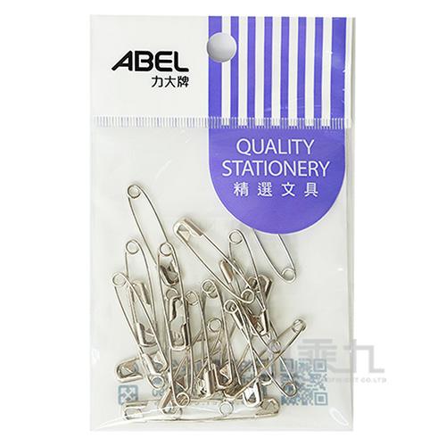 ABEL袋裝鍍鎳別針#2(25入)