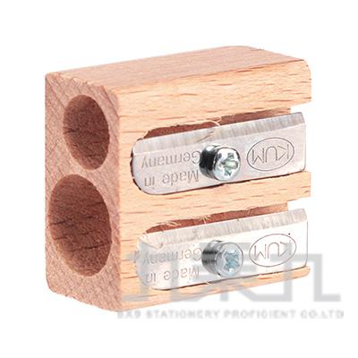 Raymay德製木頭2孔小筆削 R/M:KM116