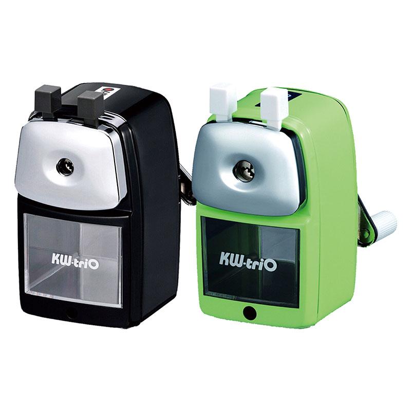 KW-triO 鐵殼削筆機(黑、綠)  030VA