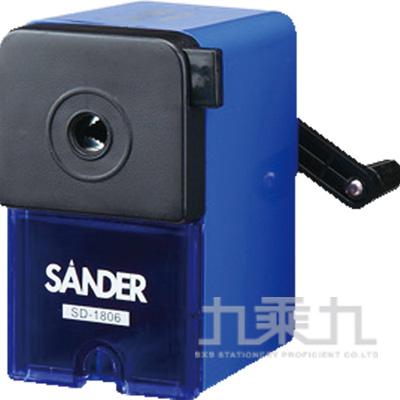 聖得削鉛筆機-藍 SD-1806