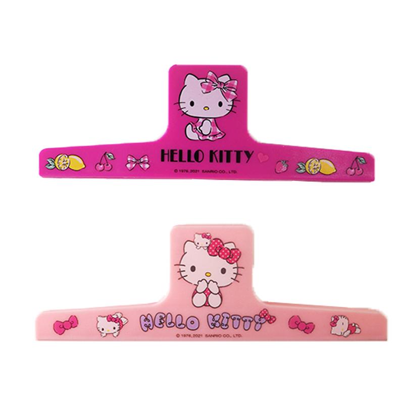 Hello Kitty 新膠磁一字夾 197036(款式隨機出貨)