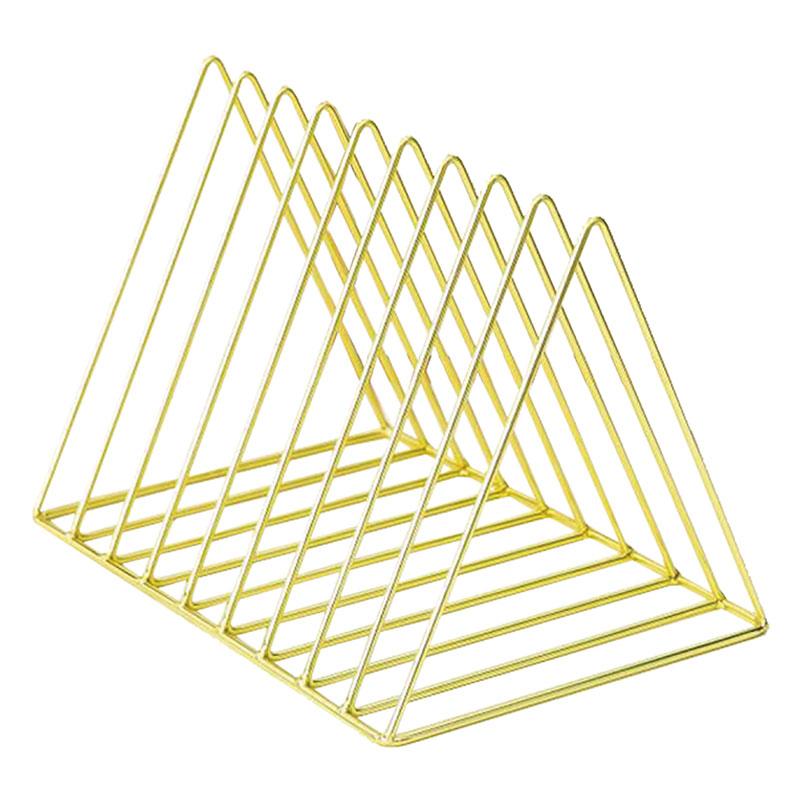 文青風造型金屬書架(9層) A0725
