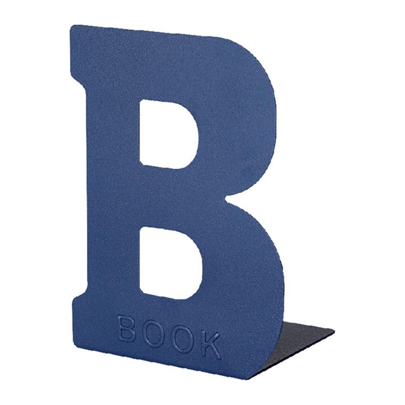 BOOK L型鐵書架(藍)
