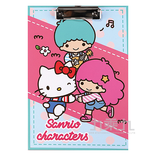 Sanrio 吊帶褲好朋友板夾 021623