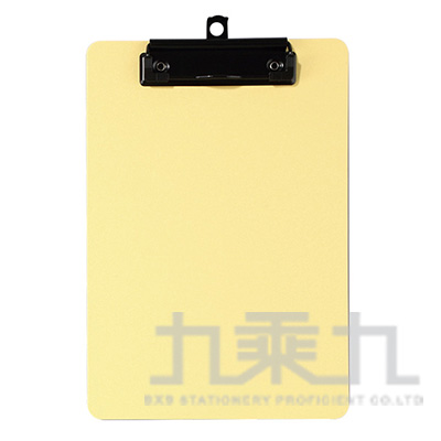 A4輕量防水板夾-暖黃色 66230-YW