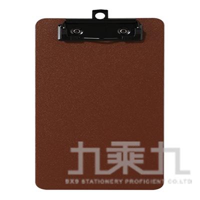 A4輕量防水板夾-咖啡色 66230-BR