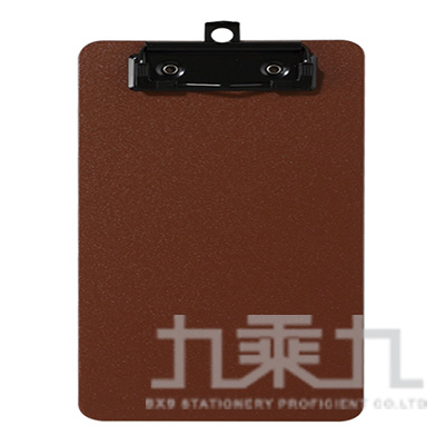 A5輕量防水板夾-咖啡色 66231-BR