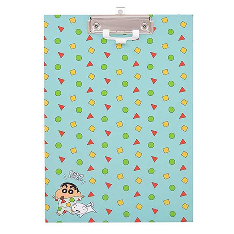 蠟筆小新A4板夾(附筆夾)-睡衣派對 DK-7009A