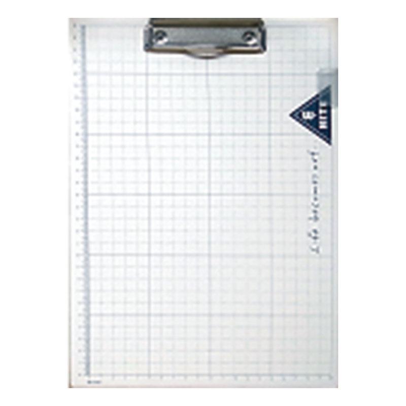 B&W世紀學人A4板夾(白) YCB-A418B