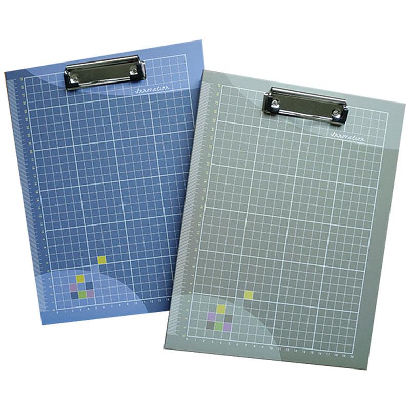 小清新A4板夾置物盒(灰綠) YCBX-A401B