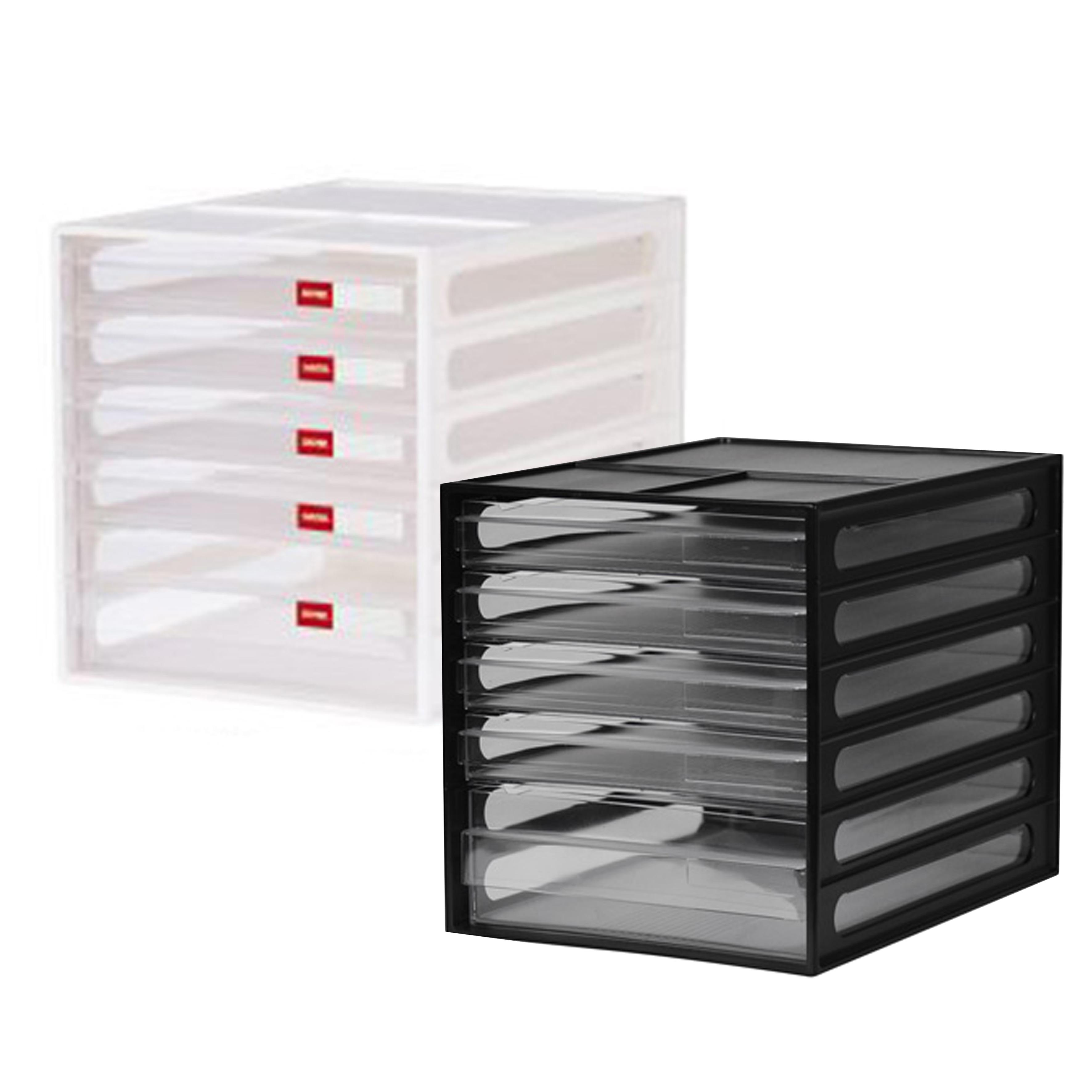 樹德 桌上型資料櫃(顏色隨機) DD-1214