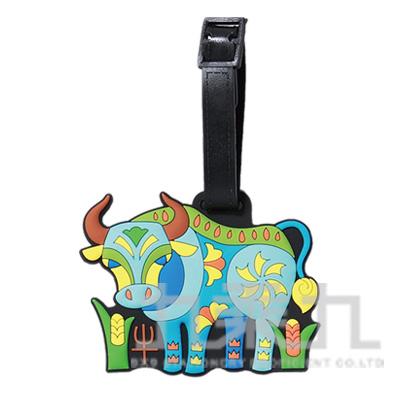 彩色生肖行李牌-牛 DS8805-02